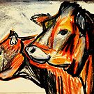 Young Heifers in Summer-Study by West50East