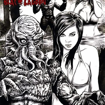 Cthulhu from the Black Lagoon by MontyBorror
