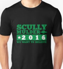 Scully & Mulder Campaign 2016 T-Shirt