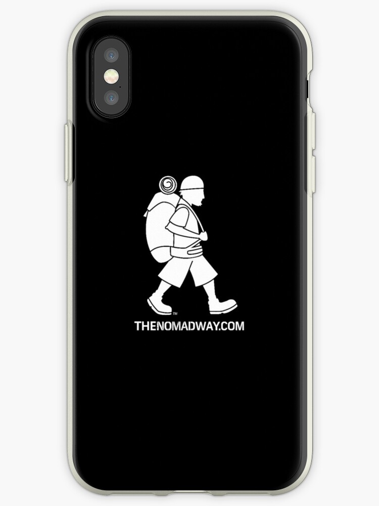 Phone Case (White on Black) The Nomad Way by TheNomadWay