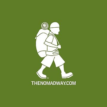 Phone Case (White on Green) The Nomad Way by TheNomadWay