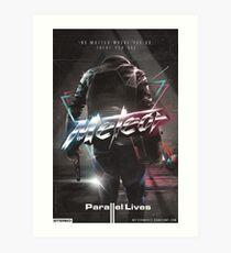 "Meteor - ""Parallel Lives"" album artwork Art Print"