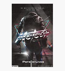 "Meteor - ""Parallel Lives"" album artwork Photographic Print"