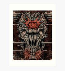 DOOM Icon Of Sin Art Print
