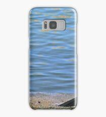 Two cormorants. Samsung Galaxy Case/Skin
