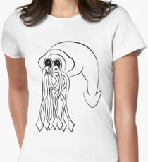 Giant Squid Women's Fitted T-Shirt