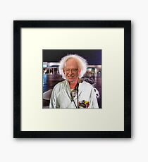 Bern To The Future Framed Print
