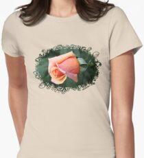A Rosebud ~ Captured Sweetness Women's Fitted T-Shirt