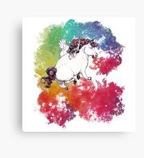 Barf the Rainbow Canvas Print