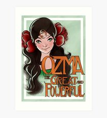 Ozma The Great And Powerful Art Print
