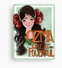 Ozma The Great And Powerful Canvas Print