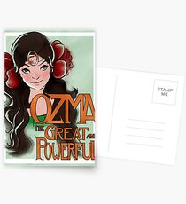 Ozma The Great And Powerful Postcards