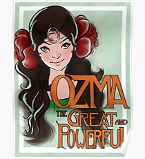 Ozma The Great And Powerful Poster