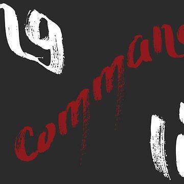 Long Live The Commander - White by honestlyanthony