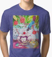 Cherry Picker Bird Tri-blend T-Shirt