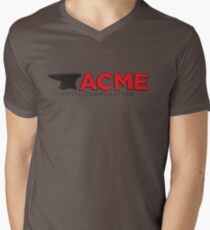 acme Men's V-Neck T-Shirt