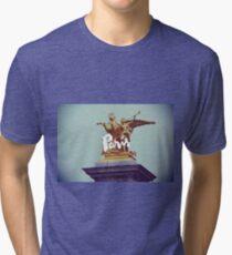 Statue of Paris - Bridge Ale Tri-blend T-Shirt