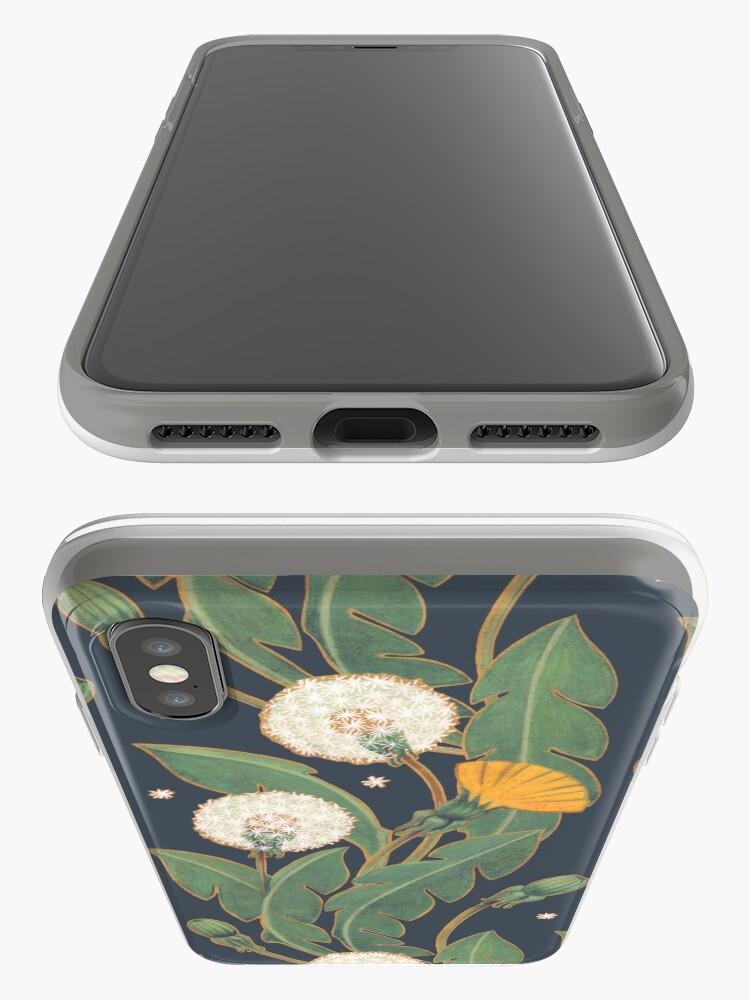 Alternative Ansicht von Löwenzahn nahtlose Muster iPhone-Hülle & Cover