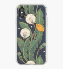dandelion seamless pattern iPhone Case