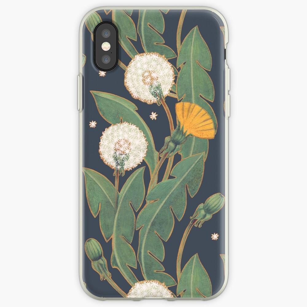 Löwenzahn nahtlose Muster iPhone-Hülle & Cover