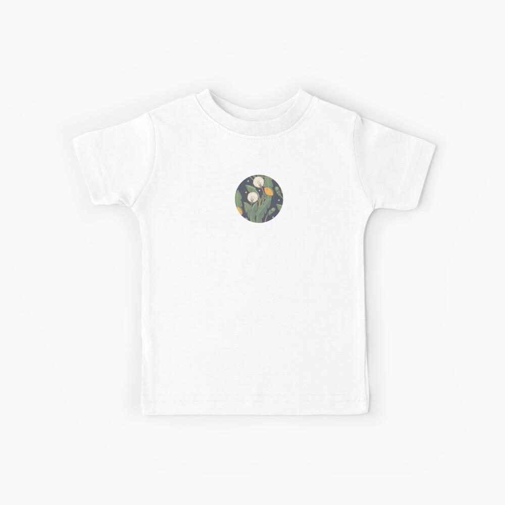 patrón transparente de diente de León Camiseta para niños