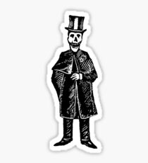 Skeleton Groom Sticker
