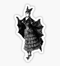 Victorian Bat Sticker