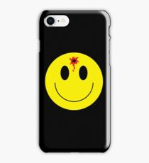 bullet smiley iPhone Case/Skin
