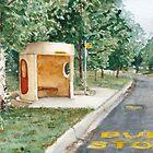 Canberra Bus Stop Richardson by Paris Lomé