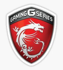 MSI Gaming Sticker