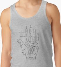 Chart of the Hand - fortune-telling Tank Top