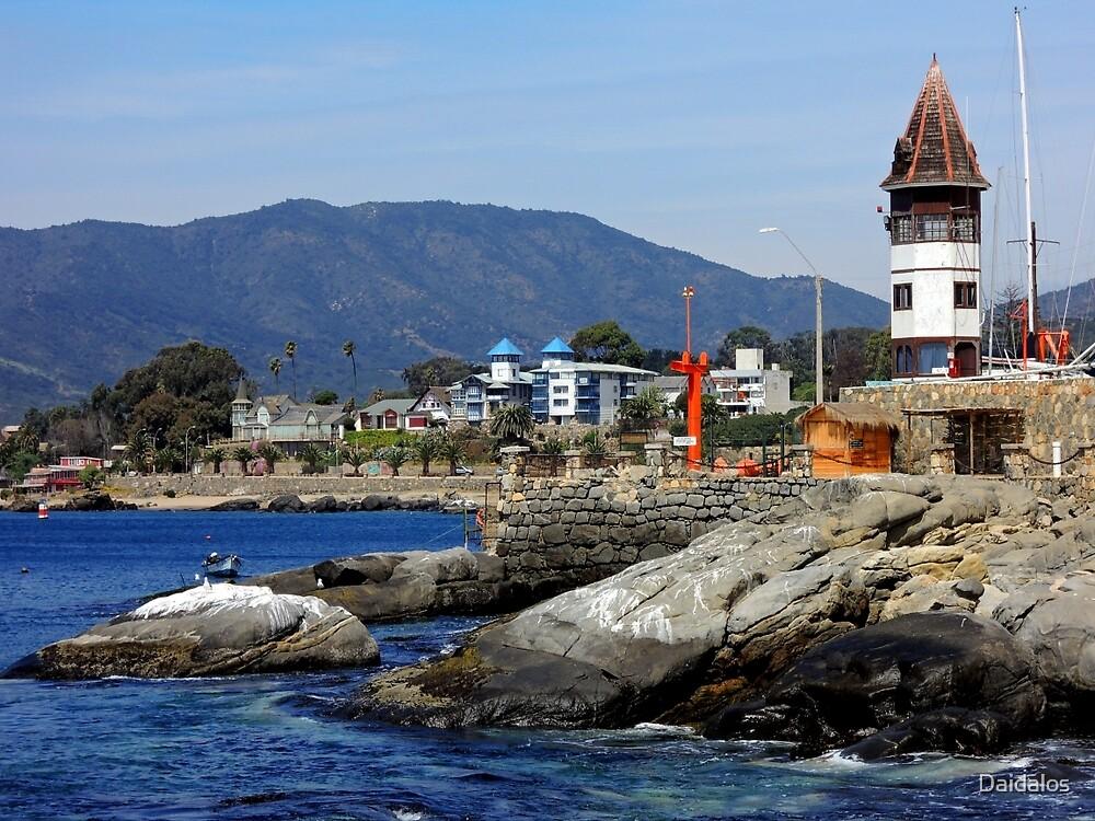 Chile - Papudo Bay - (Valparaiso region) by Daidalos