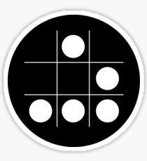 Hacker-Emblem Sticker