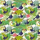 Toucan Paradise by Jeca Martinez