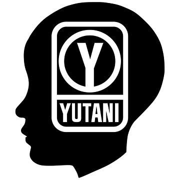 YUTANI Corporate Logo (Head version) [Black] by misterDNA