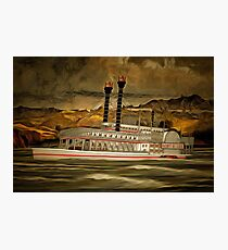 The Robert E Lee Paddle Wheeler Photographic Print