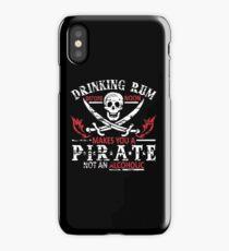 rum pirate iPhone Case/Skin