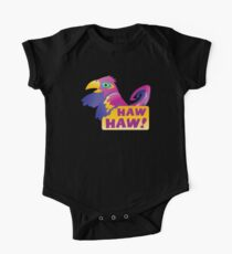HAW HAW cute tropical parrot One Piece - Short Sleeve