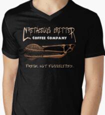 Cretaceous Critter Coffee Co. Men's V-Neck T-Shirt