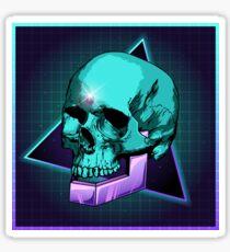 Sci-fi Skull Sticker