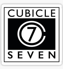 Cubicle 7  Sticker