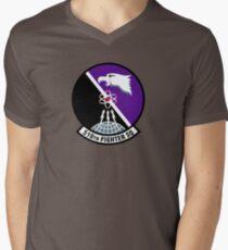 "510th Fighter Squadron ""Buzzards"" - Aviano AB Men's V-Neck T-Shirt"