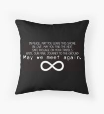 The 100 - The Traveler's Blessing Throw Pillow