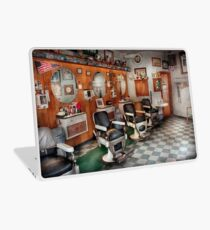Barber - Frenchtown Barbers  Laptop Skin