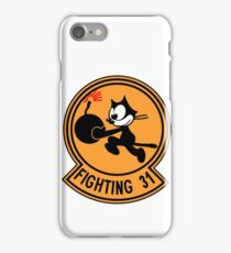"""VFA-31 Strike Fighter Squadron 31 """"Tomcatters"""" iPhone Case/Skin"""