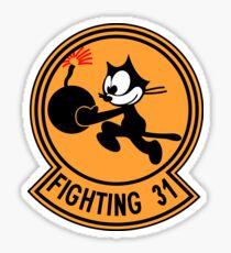 "VFA-31 Strike Fighter Squadron 31 ""Tomcatters"" Sticker"