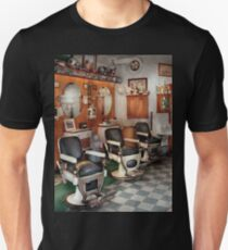 Barber - Frenchtown Barbers  Unisex T-Shirt