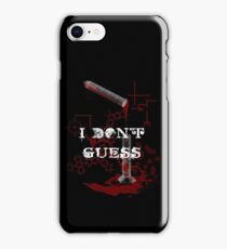 Guess iPhone Case/Skin