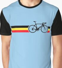 Bike Stripes Belgian National Road Race Graphic T-Shirt