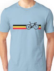 Bike Stripes Belgian National Road Race Unisex T-Shirt